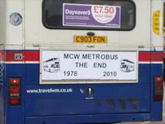 MCW Metrobus 1978 - 2010 (GarethJones79) Tags: green metrobus twm mcw 2903 wmt acocks wmpte nxwm c903fon
