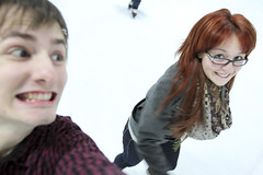 Ice Skating (289/365) (Joshua Uhl) Tags: love ice smile canon fun happy eos joshua skating yay josh 7d kit