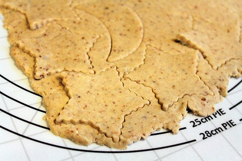 lemon coconut cut-out cookies