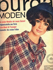 Burda-August 1965 (Fashion Covers Magazines (Second)) Tags: 1965 burda vintagefashion vintagemagazine 1960s burdamoden 1960sfashion