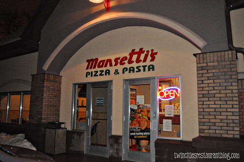 Mansetti's Pizza & Pasta ~ Forest Lake, MN