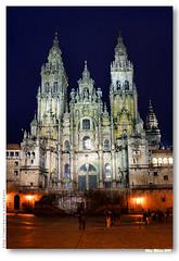 Catedral de Santiago de Compostela (noite) #3 (vmribeiro.net) Tags: santiago church night geotagged spain espanha cathedral sony catedral galicia galiza igreja compostela nocturne  a350 sonydslr350 geo:lat=4288043449117842 geo:lon=8545760210975654