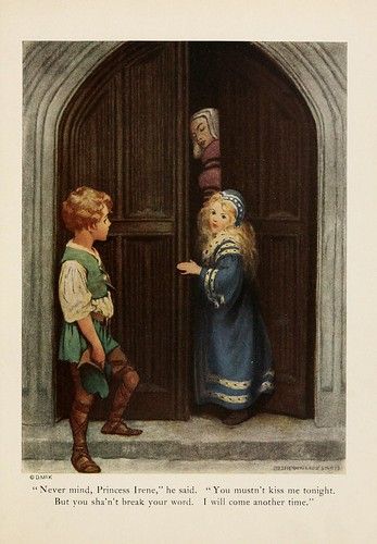 027--The princess and the goblin 1920-ilustrado por Jessie Willcox Smith