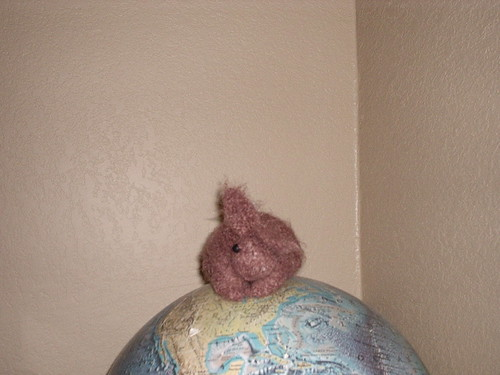 Foo-Foo on the globe