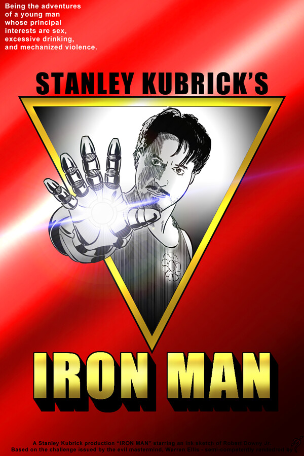 Iron Man by Stanley Kubrick, by -3-