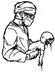 scan0002 (+DemonHunter+) Tags: baby man pen pencil ink death kill abortion doctor fetus sharpie abort surgeon