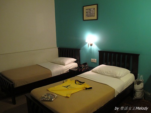 Old penang Twin room