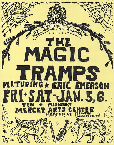 01/05 & 06/73 Magic Tramps @ Mercer Arts Center, NYC, NY