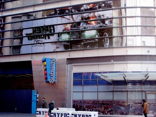 Green Hornet Billboard Reflection 1248 by Brechtbug
