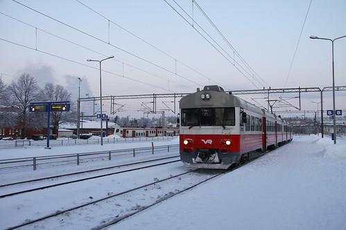 IMG53562. Commuter train, Riihimäki