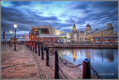 Albert Dock (mobilevirgin) Tags: liverpool canon threegraces 5d hdr pierhead albertdock 2470mm 3graces mannisland