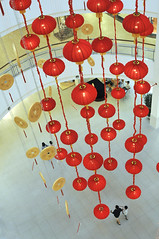 Chinese New Year is coming (Caesda) Tags: red mall cny latterns 2011 caesda