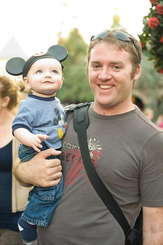 Noah's First Disneyland Trip 5