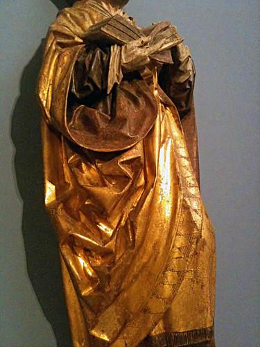 gold gothic draper