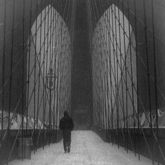 (Barry Yanowitz) Tags: nyc newyorkcity bridge blackandwhite bw snow ny newyork 6x6 film weather brooklyn mediumformat blackwhite trix bridges 120film d76 brooklynbridge scanned brownie snowing gothamist filmcamera nycity selfdeveloped 718 kodakbrowniehawkeyeflash selfdeveloping d76developer