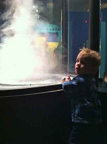 Tornado viewing at the Science Center