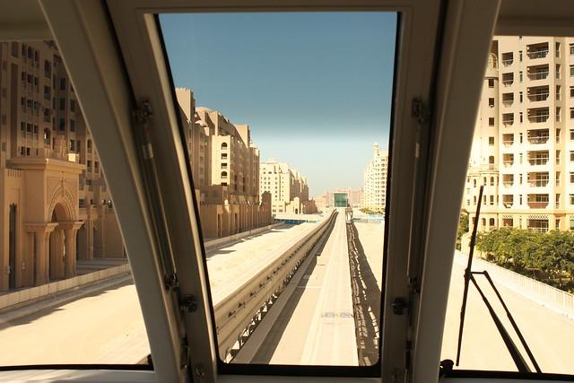 Dubai Metro to Palm Jumeirah/The Atlantis