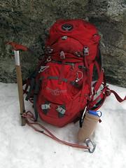 hiking climbing icehousecanyon sangabrielmountains snow winter mountain