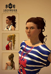 PlayStation Home Update - New Lockwood Hairstyles