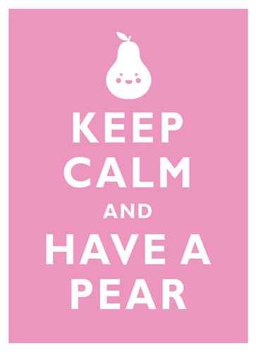 Keep Calm and Have a PEAR
