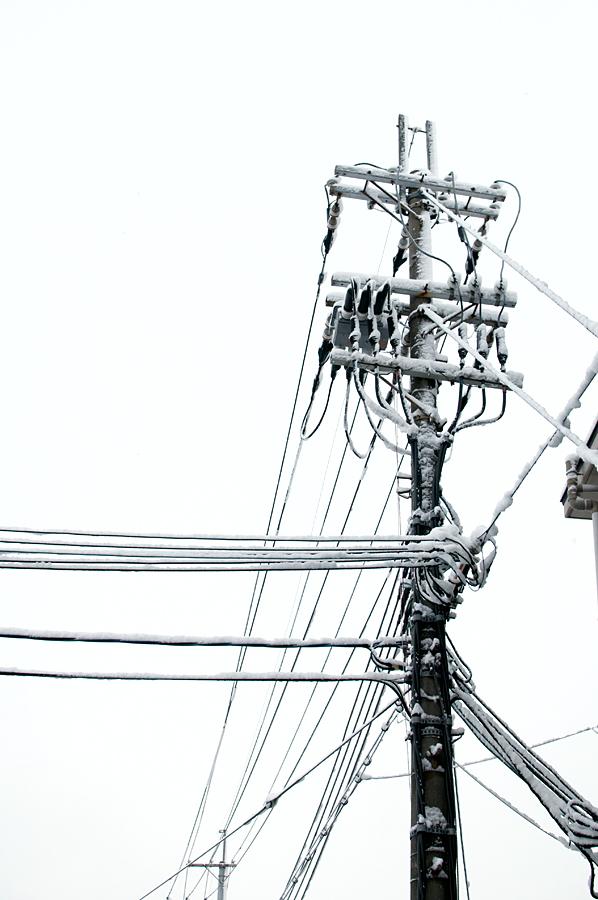 電線|滋賀県野洲