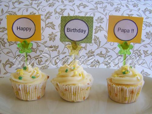 Birthday Starts Cupcakes - 1