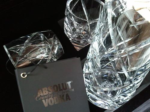 Absolut Cristal Bottle