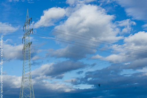 Stromfernleitung