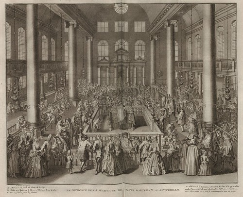 La Dedicace de la Sinagogue de Juifs Portugais a Amsterdam