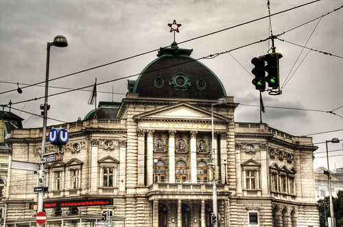 Vienna. Volkstheater. Viena