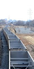 DSC_0516 (pjpink) Tags: urban virginia tracks trains gritty richmond railcar northside curved rva