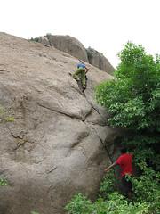 yup! the free solo (Gogolcat) Tags: india climbing ramanagaram