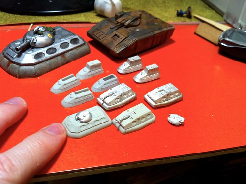 Hammers Slammers 6mm Scale Miniatures