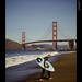 Wakeboard Surfing @ Baker Beach - San Francisco, CA