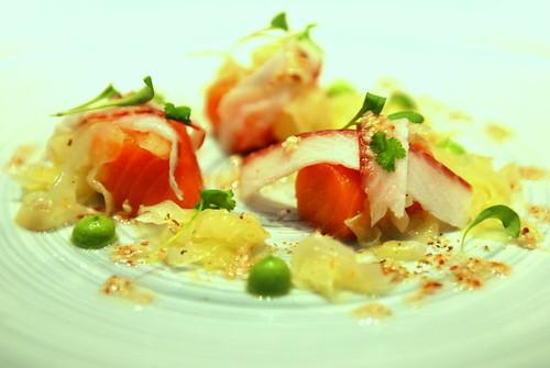 Poached Organic Salmon