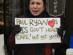 Rally in support of health care