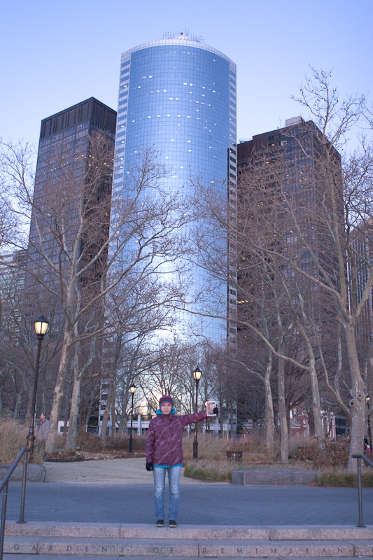 На набережной в Battery Park