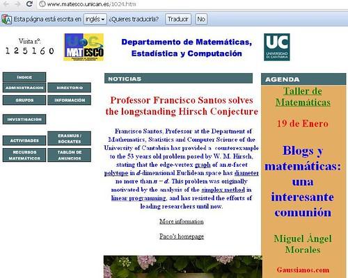 """Taller """"Blogs y matemáticas: una interesante comunión"""""""