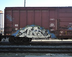 DECOR (They're Listening) Tags: bench graffiti paint pieces vandalism spraypaint cp bomb decor cpr bombing boxcars pannel ihp bh bhg destory jamer benching