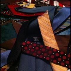 His ties