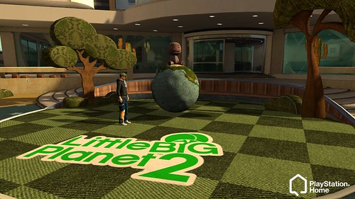 PlayStation Home Update - LBP2