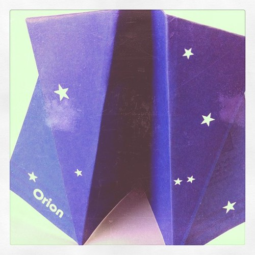 Paper airplane 'Orion' 20.01.11