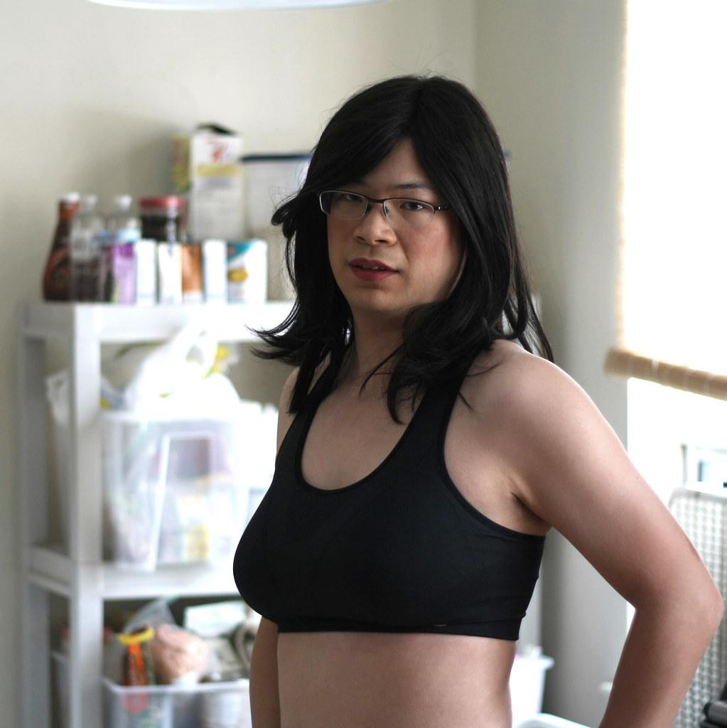 Sports Bra Tgirl Katie Tags Home Sports Asian Tv Breast Underwear Cd