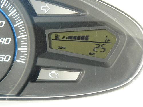 Honda PCX125 test-drive