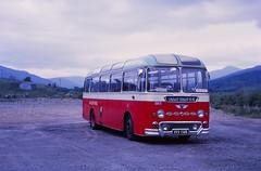 Highland B55 Crainlarich Refreshment Stop (Guy Arab UF) Tags: bus buses scotland coach scottish 1961 crainlarich b55 aecreliance duple highlandomnibuses davidmacbrayne refreshmentstop 199cus