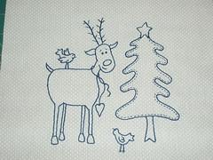 reindeer stitchery front 1