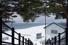 2011-01-22-11:07 (Miki'sRoom) Tags: lake snow japan  akita   tazawako  sel1855