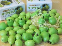 Pears aplenty too