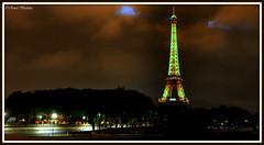 Eiffel Tower from l'Alma (Renal Bhalakia) Tags: lighting paris france tower night lights europe nightlights tour nightshot eiffeltower eiffel toureiffel nightview parisbynight darklights nikond600 renalbhalakia nikon28300mmvr
