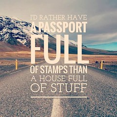 I'D RATHER HAVE A PASSPORT FULL OF STAMPS THAN A HOUSE FULL OF STUFF (theescapetravel) Tags: leh ladakh memories explore culture yourself moments travel instatravel travelgram tourist tourism vacation traveling trip incredible india escapewithus